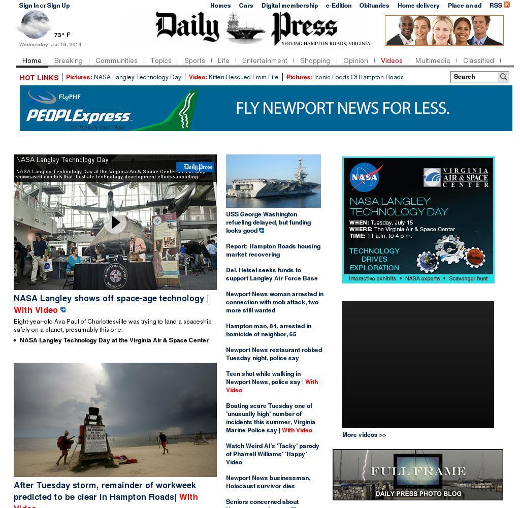 (Hampton Roads) Daily Press