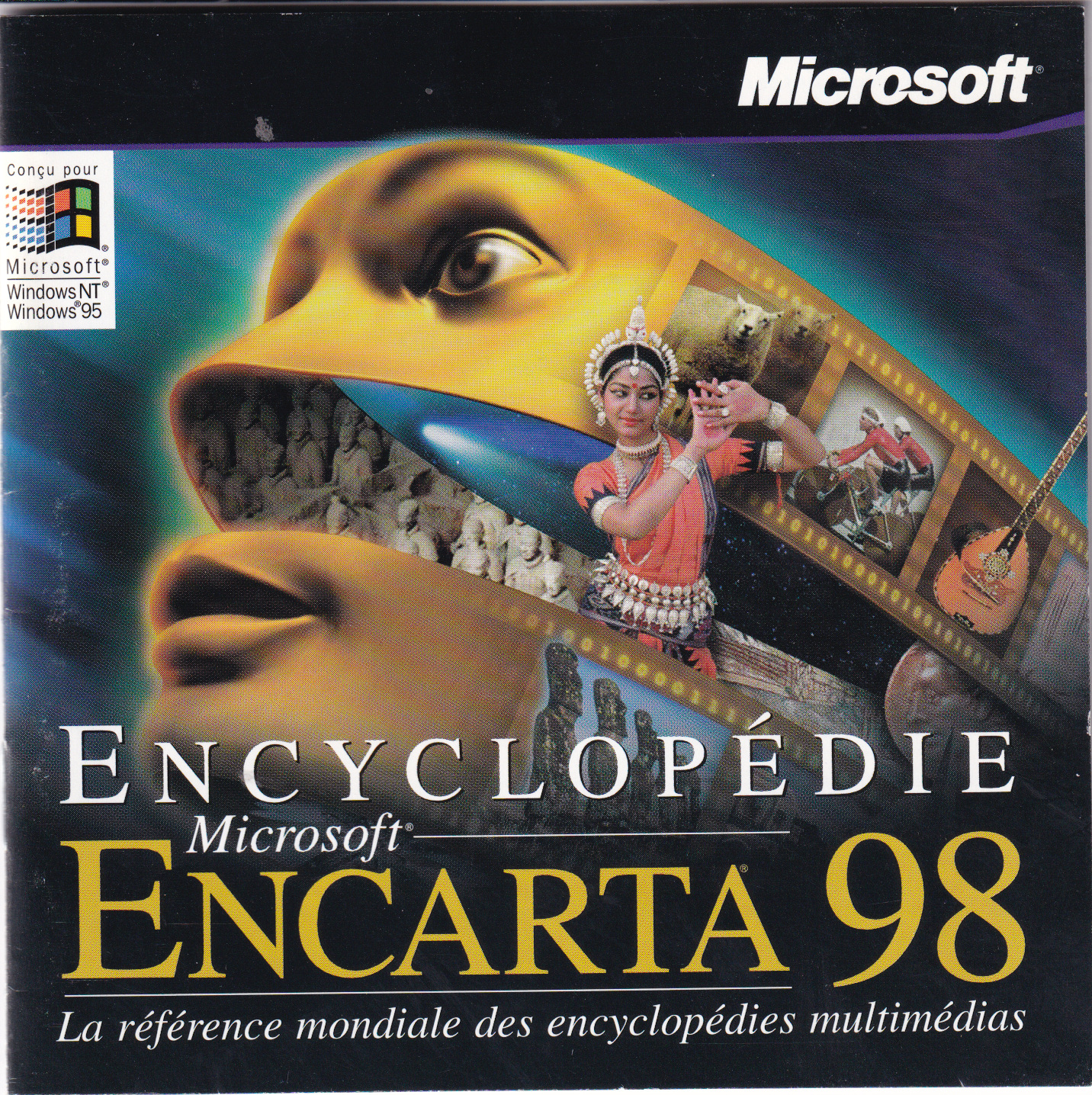 Microsoft Encyclopedie Encarta 98 French Version (Win95NT)(1997) : Free  Download, Borrow, and Streaming : Internet Archive