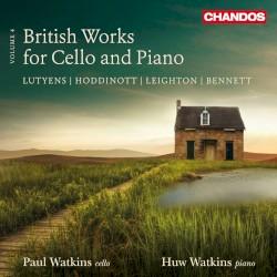 British Works for Cello and Piano, Volume 4 by Lutyens ,   Hoddinott ,   Leighton ,   Bennett ;   Paul Watkins ,   Huw Watkins
