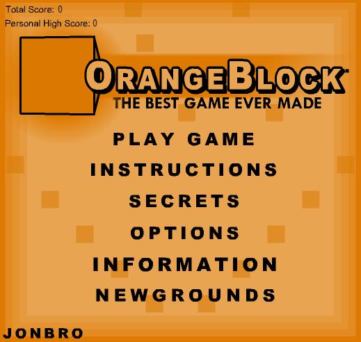 OrangeBlock & BlueBlock Games