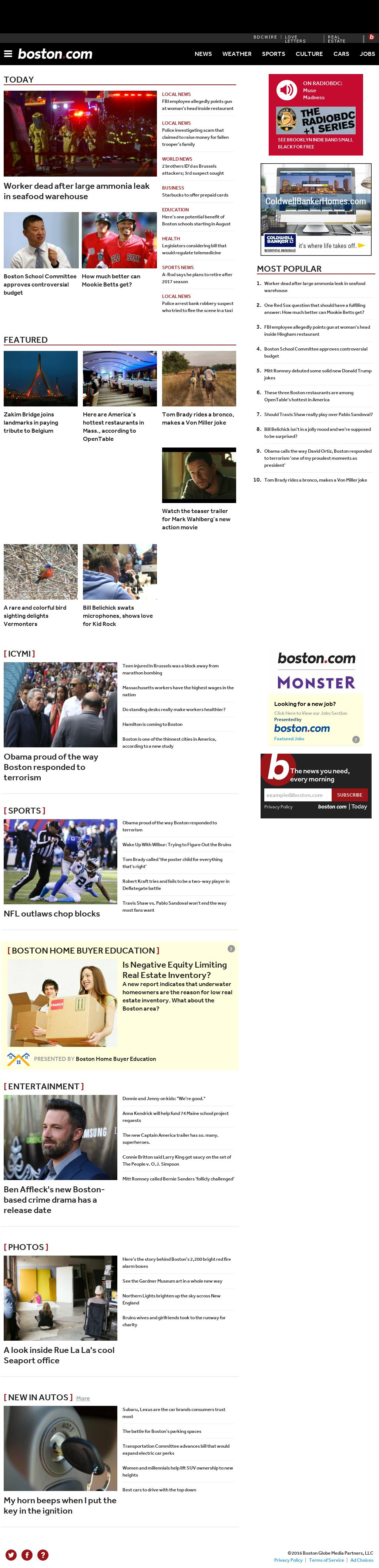 Boston.com at Thursday March 24, 2016, 4:01 a.m. UTC