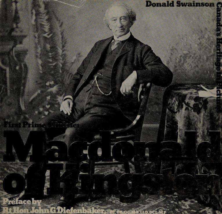 Macdonald of Kingston by Donald Swainson