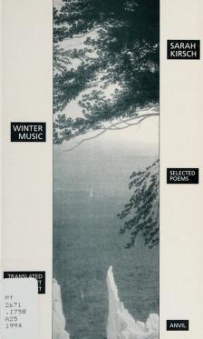 Cover of: Winter music | Sarah Kirsch
