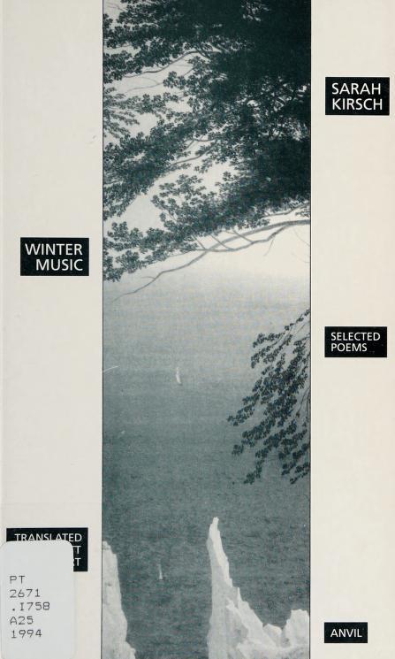 Winter music by Sarah Kirsch